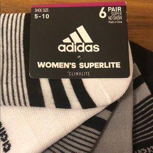 adidas Accessories - Adidas womens super no show socks